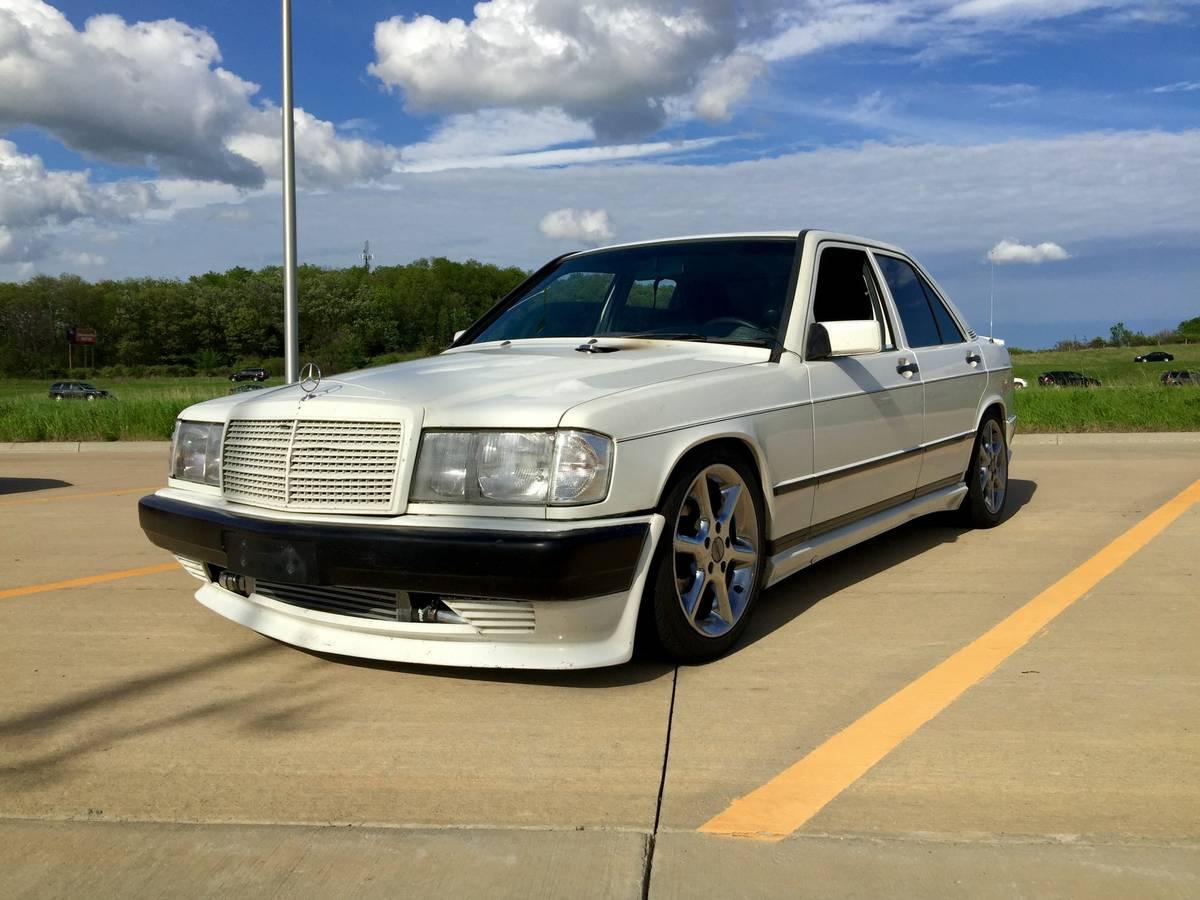 Daily Turismo: Unholy Matrimony- 1985 Mercedes 190e SR20det swap