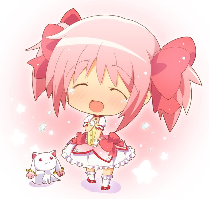 Anime Galaxy Puella Magi Madoka Magica Chibi Futuristik