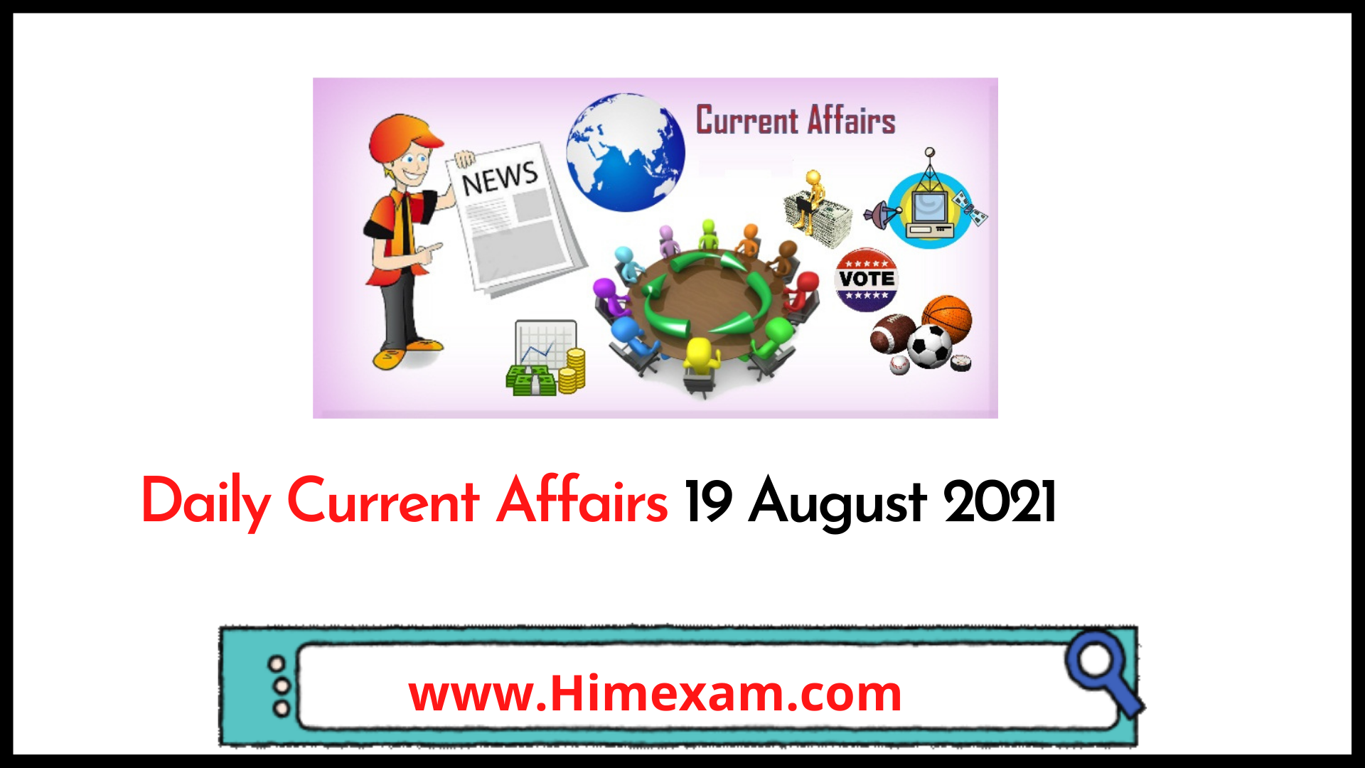 Daily current affairs 19 August 2021