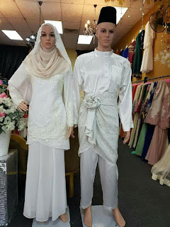 1baju songket pengantin malaysia