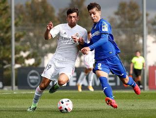 Dura derrota en el estreno liguero en casa. Real Madrid Castilla 1-2 Getafe B.