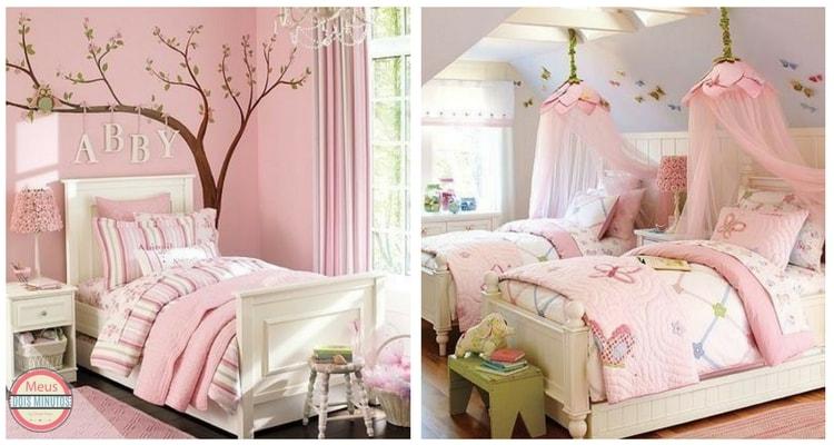quartos cor rosa