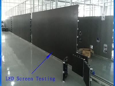 Thi công lắp đặt màn hình led p4 module led tại Bắc Ninh