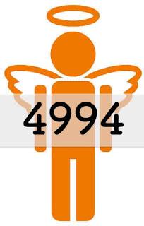 エンジェルナンバー 4994