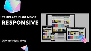 Template Blog Movie Responsive