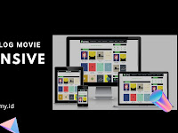 Template Blog Movie Responsive