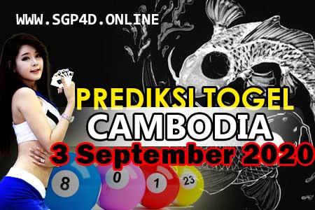Prediksi Togel Cambodia 3 September 2020