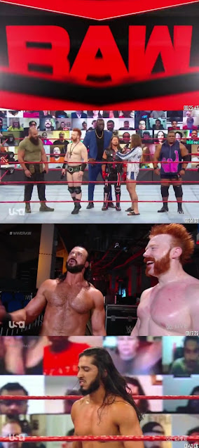 WWE Monday Night Raw 9th November 2020 480p 300Mb HDTV || 7starHD
