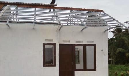 Contoh Atap Baja Ringan Rumah Minimalis Modern