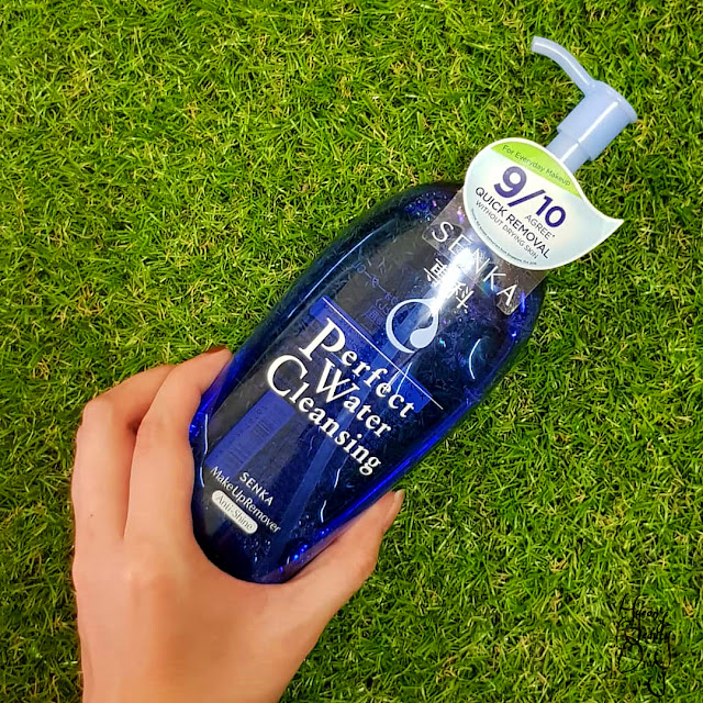Review; Senka's Perfect Water Cleansing Make Up Remover (Anti-Shine)