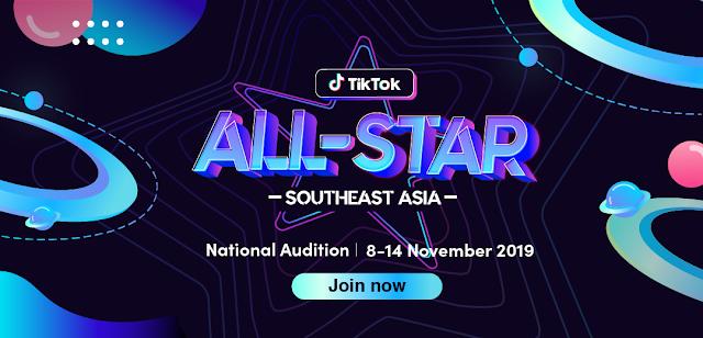 TikTok All-Star Southeast Asia 2019