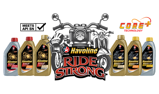 Caltex Havoline motorcycle products