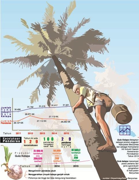 industri gula kelapa kabupaten banyumas