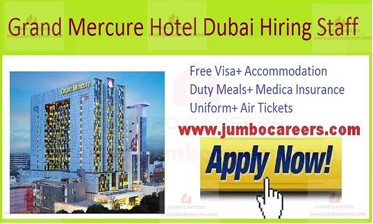 Grand Mercure Hotel Dubai Latest Job Vacancies and Careers