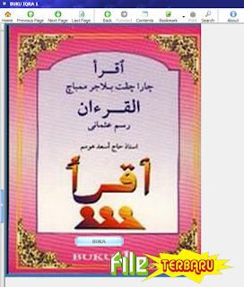 Download Aplikasi Buku IQRO Lengkap Jilid 1-6 Untuk PC Gratis