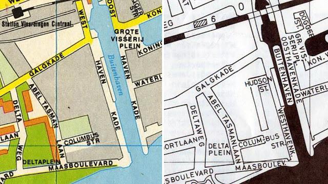 Falk-plattegrond 1978 1980