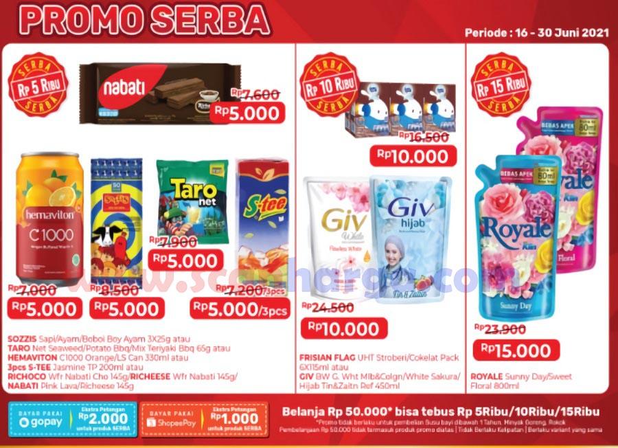 Promo Alfamart SERBA 16 - 30 Juni 2021