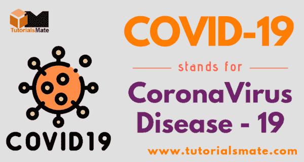 COVID-19 Full Form