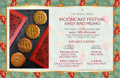 manila hotel mooncake festival