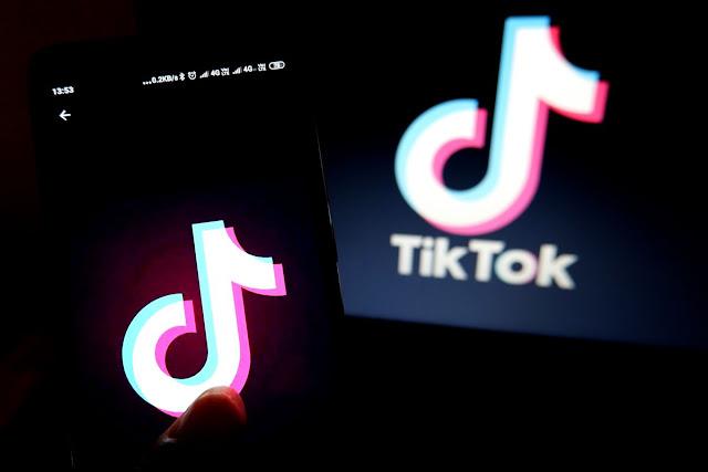 Teens post lip-sync videos on TikTok, a popular video sharing app