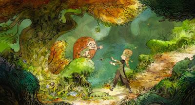 Animated Animation Anime Irish Wolves Wolf Shapeshifters Magic