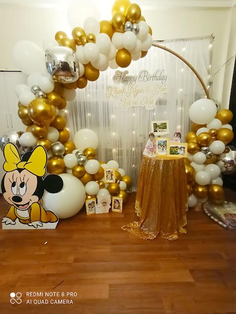 Thuê trang trí sinh nhật tại nhà ở Thanh Xuân