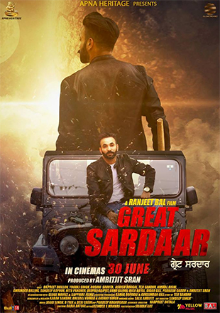Great Sardaar 2017 Punjabi 720p WEB-DL 800mb