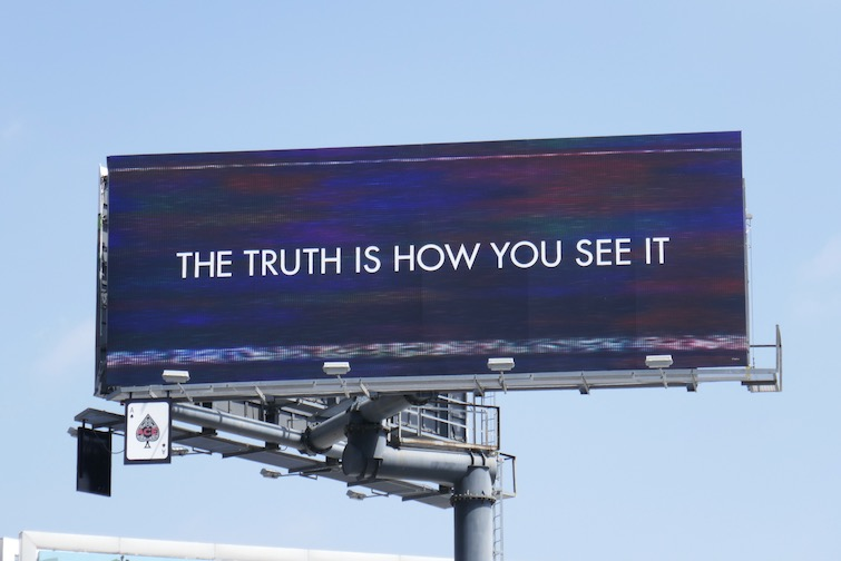 truth is how you see it Cruel Summer billboard