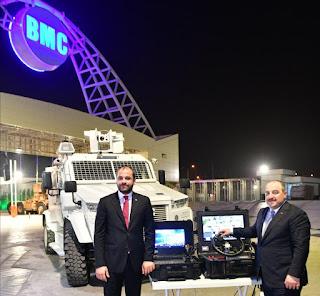 """BMC'nin insansız kara aracı """"AMAZON"""" sahaya inmek için hazırlanıyor"""