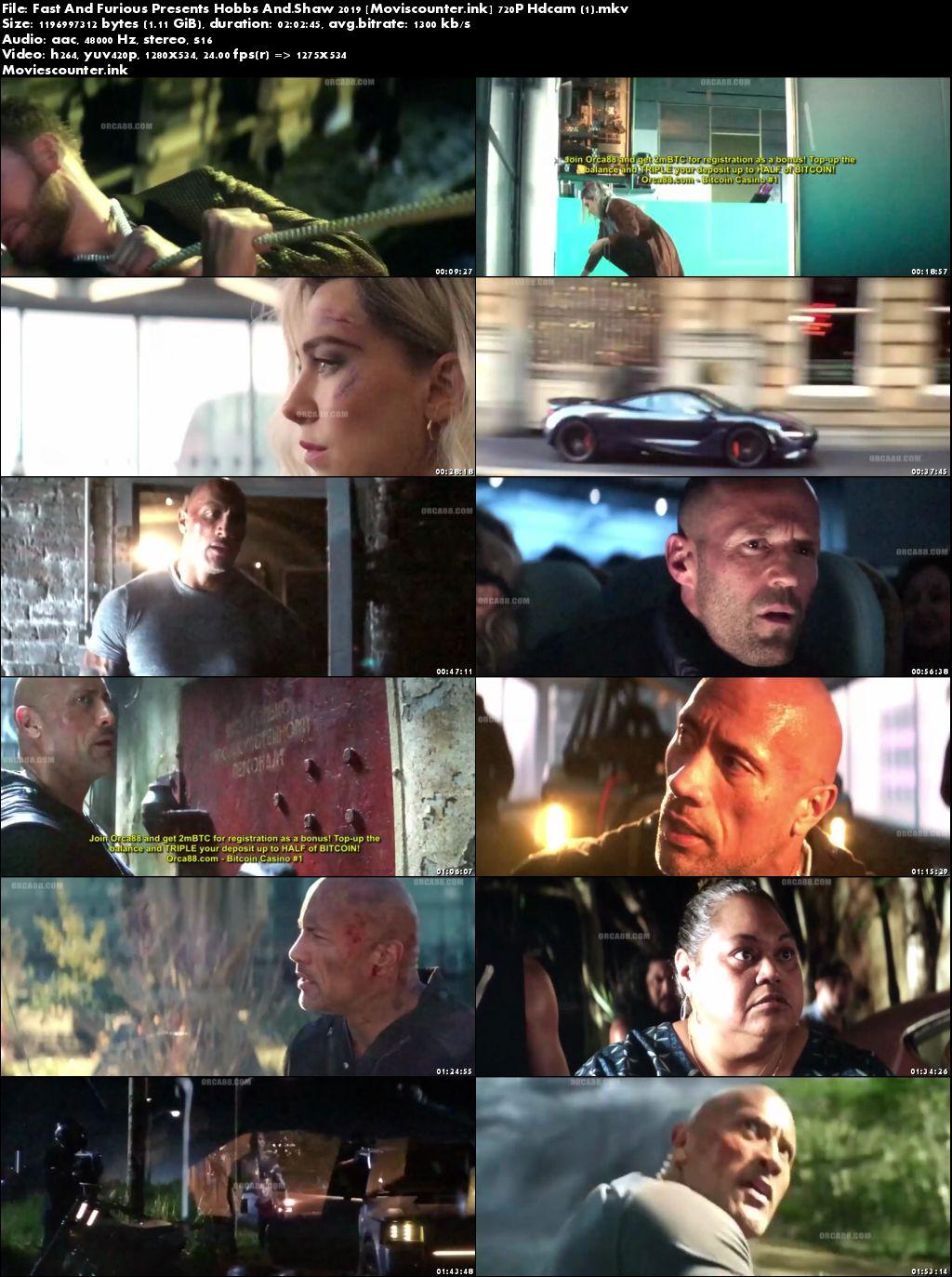Screen Shots Fast & Furious Presents: Hobbs & Shaw 2019 English HD 720p