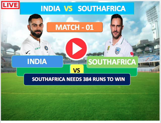 India vs South Africa, 1st Test - Live Streaming Online , Day 5