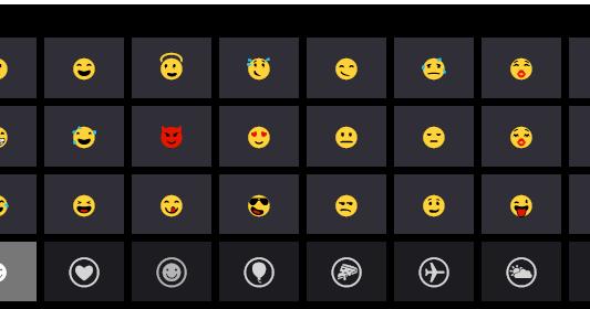 how to add emojis chrome