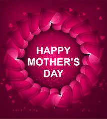 Happy Mother's Day Banner Clipart, African American Mothers Day Clipart