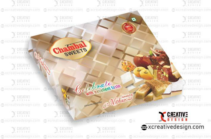 Sweet Box Design Vector image