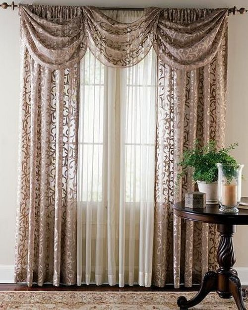 How To Sew Curtain Tie Backs Valance Valances Curtains By Hand