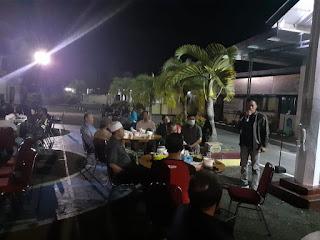 Pererat Sinergitas, Polres dan Kodim Pangkep Kompak Makan Malam Bersama