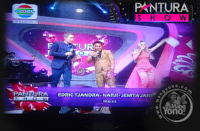 Host Pantura Show  Edric Tjandra, Narji dan Jenita Janet