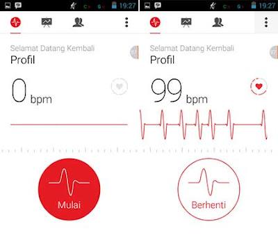 Cara Deteksi Detak Jantung Dengan Smartphone Android