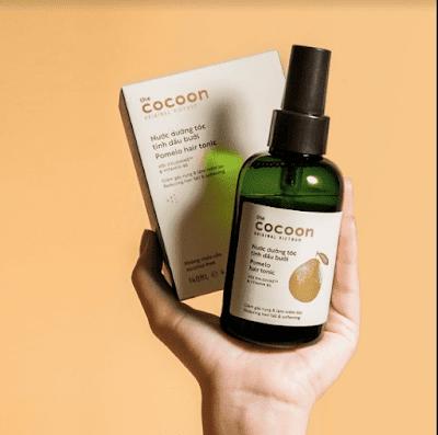 Nước dưỡng tóc tinh dầu buổi Cocoon