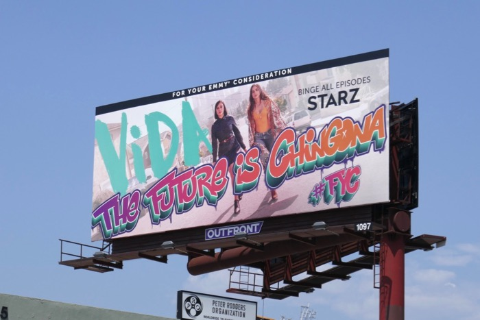 Vida season 2 Emmy FYC billboard