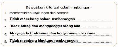 jawaban Kewajiban kita terhadap lingkungan www.simplenews.me