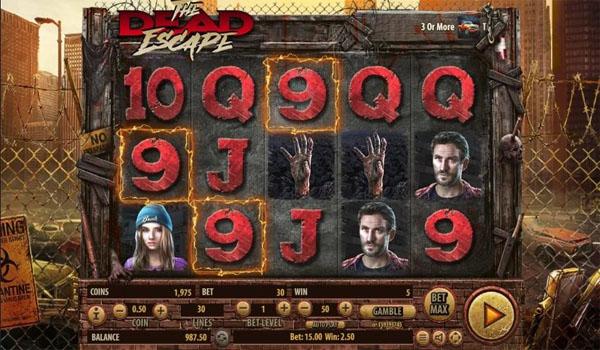 Main Gratis Slot Indonesia - The Dead Escape Habanero