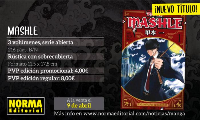 Mashle manga - Hajime Koumoto - Norma Editorial