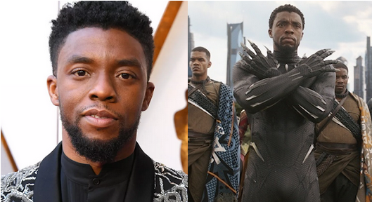 US Black Panther star, Chadwick Boseman Dies of Cancer aged 43- Tatahfonewsarena