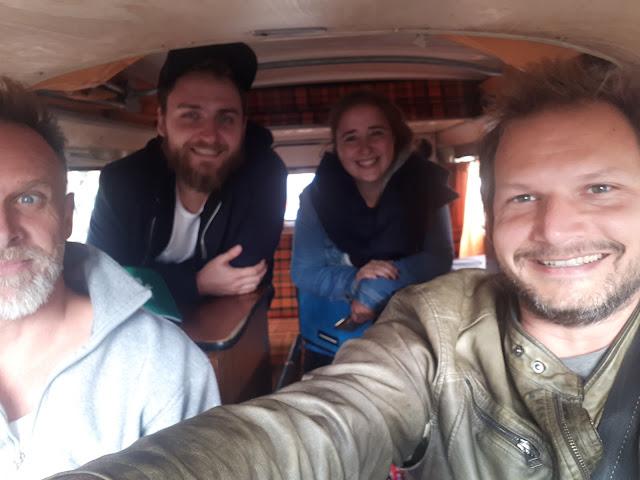 Berlin Bulli Tour passengers