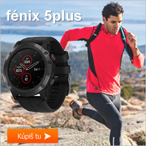 Garmin fénix 5plus športtester