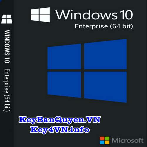 Mua bán key Windows 10 Enterprise bản quyền Full 32 và 64 Bit .