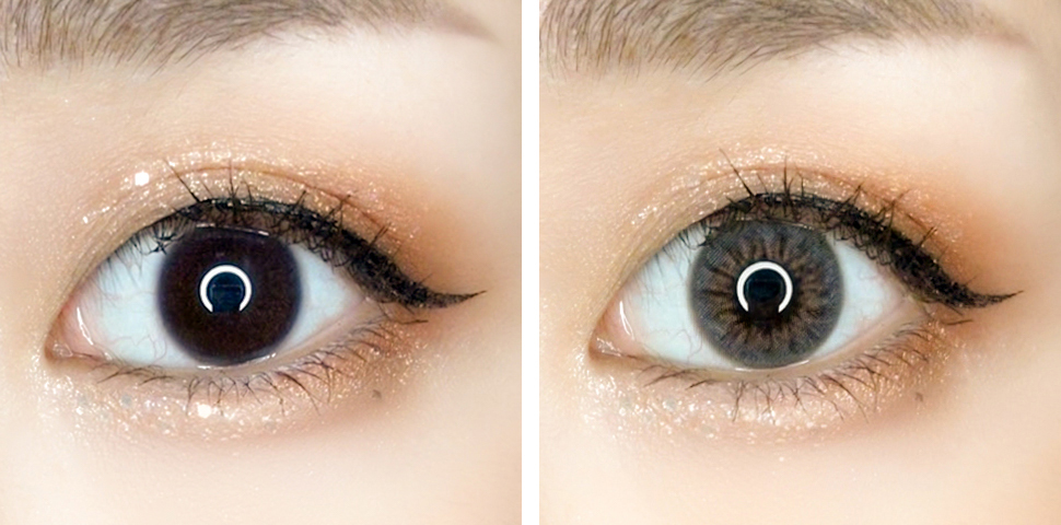 OLENS French Gold 3Con Contact Lens Review | chainyan.co