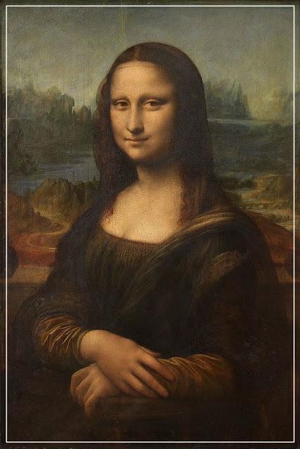 Mona Lisa, de Leonardo da Vinci.