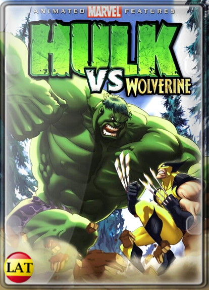 Hulk vs. Wolverine (2009) DVDRIP LATINO